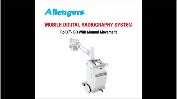 Digital Radiography System (Mobile) ROLLXDR series