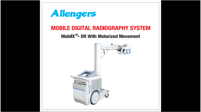 Digital Radiography System (Mobile) MOBILXDR series