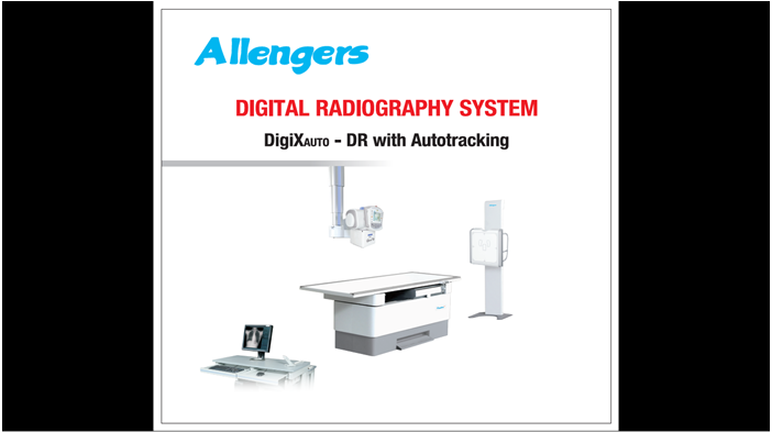 Digital Radiography system (Ceiling suspended)