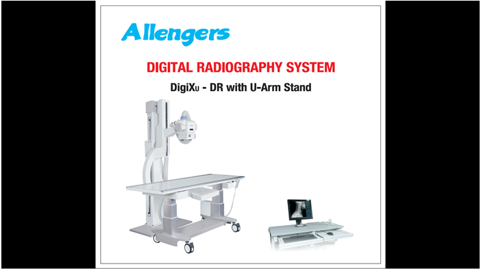 Digital Radiography System (Universal U-Arm)