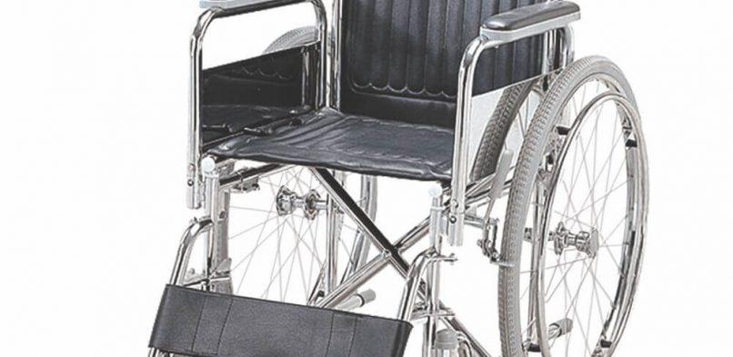 Folding Wheel Chair (Detachable Armrest & Footrest)