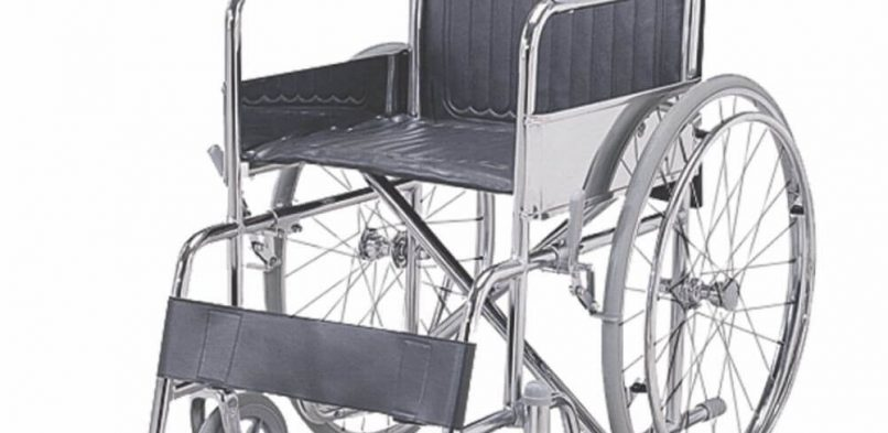 Folding Wheel Chair (Fixed Armrest & Footrest)