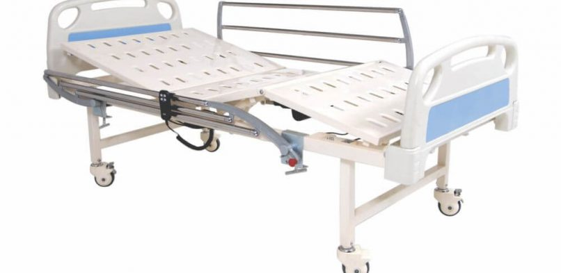 HOSPITAL FOWLER BED ELECTRIC WITH S.S. RAILING