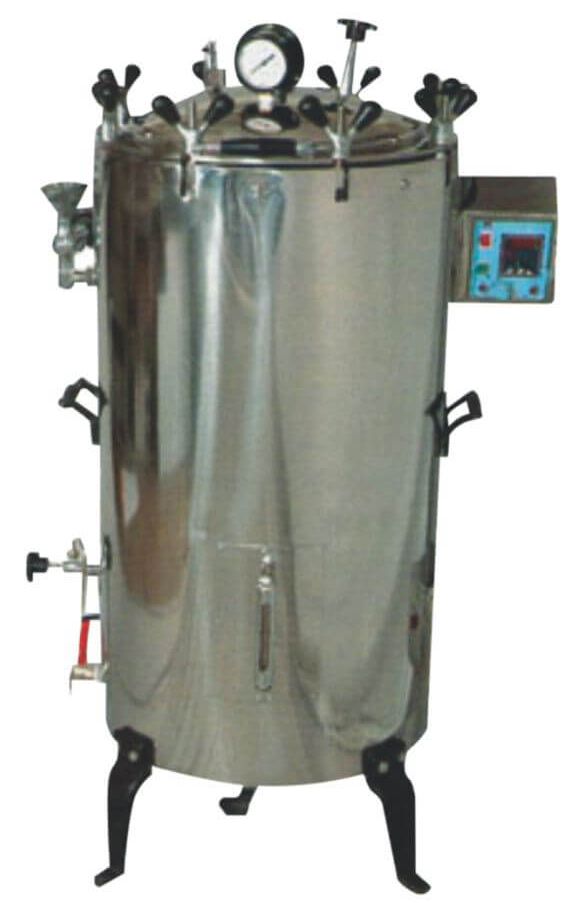 VERTICAL AUTOCLAVE – TRIPLE WALLED Image